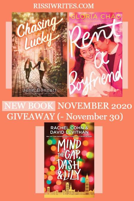 NEW BOOK NOVEMBER 2020 GIVEAWAY. Just another giveaway hop on Finding Wonderland; which book would you pick from this month's list?