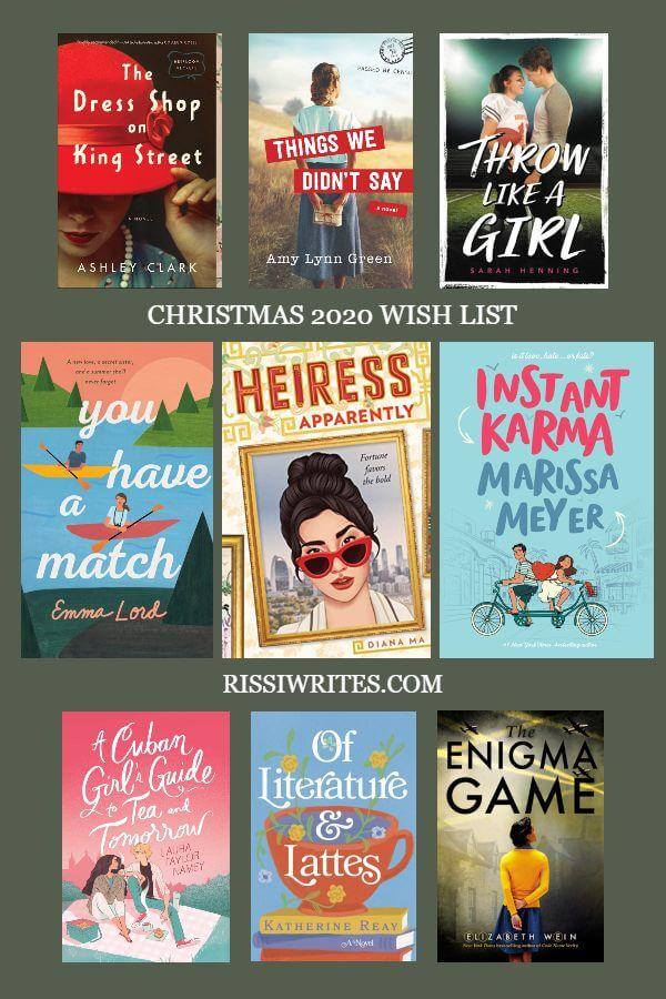 Dear Santa: Here is my Bookish Christmas Wish List… Chatting about a bookish Christmas wish list (aka I wouldn't mind Santa bringing these) Text © Rissi JC