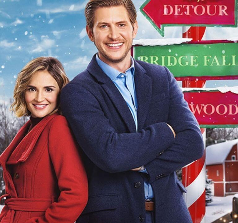 'Cross Country Christmas': One Adventure After the Next! A review of the 2020 Christmas original with Rachael Leigh Cook. © Rissi JC