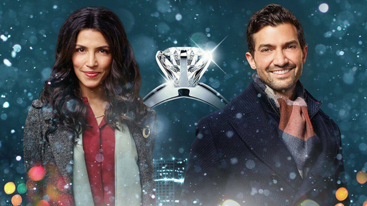 'The Christmas Ring' is another Cozy Seasonal Romance. Nazneen Contractor debuts on Hallmark in this sweet mystery. Text © Rissi JC