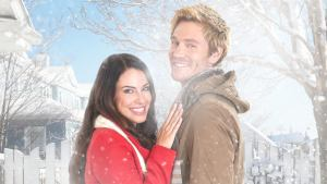 'TOO CLOSE FOR CHRISTMAS': A FUN ENEMIES TO MORE ROMANCE. Jessica Lowndes and Chad Michael Murray co-star in this rom-com! © Rissi JC