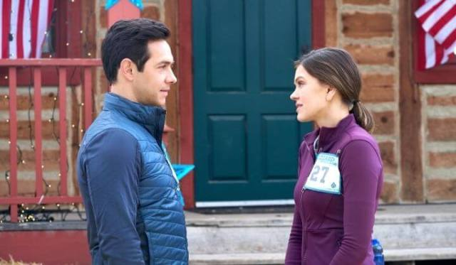 'A New Year's Resolution' is One Spark Filled Romance! Review of the 2019 film with Aimee Teegarden & Michael Rady. All text © Rissi JC