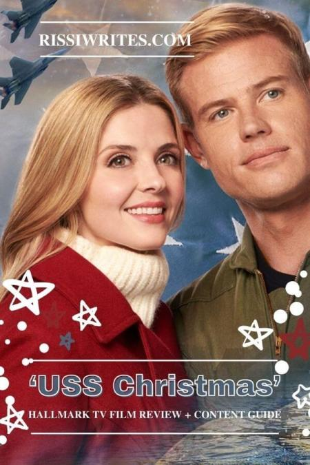 'USS Christmas': An American Romance from Hallmark. A review of the original with Jen Lilley & Trevor Donovan. Text © Rissi JC