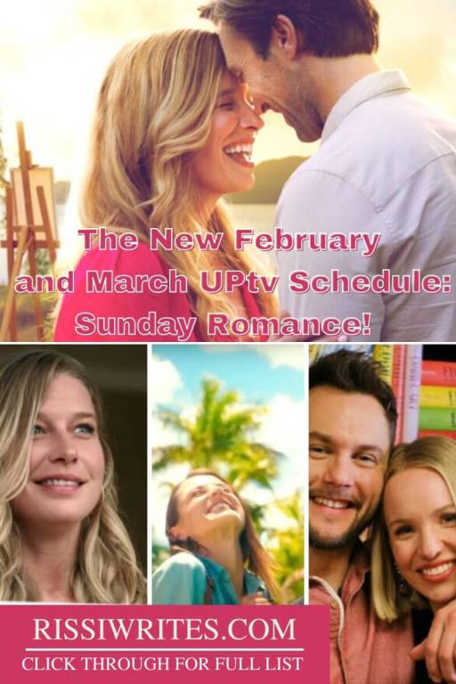 The New February and March UPtv Schedule: Sunday Romance! Sharing the 'UPtv February and March 2021 schedule' during Sunday Night Romance! © Rissi JC