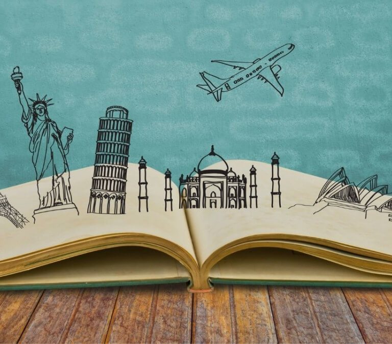 THE PLACES WE'LL GO! 10 PLACES I'D LIKE TO SEE WITH BOOKS AS GUIDE. Talking places in books to visit! Where would you go? © Rissi JC