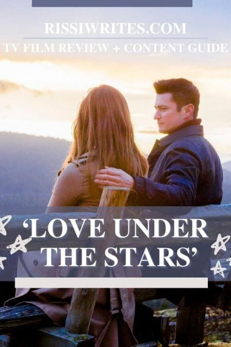 'LOVE UNDER THE STARS': HEARTWARMING STORY OF HEALING. Wes Brown and When Calls the Heart's Jaeda Lily Miller co-star in this 2005 dramedy. Text © Rissi JC