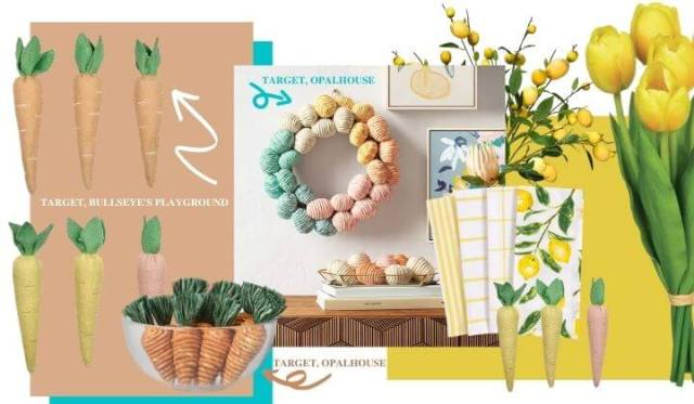 SPRING DÉCOR INSPIRATION (AND FUN MOOD BOARDS, TOO!). Sharing some spring re-fresh ideas. How do you decorate? Text © Rissi JC