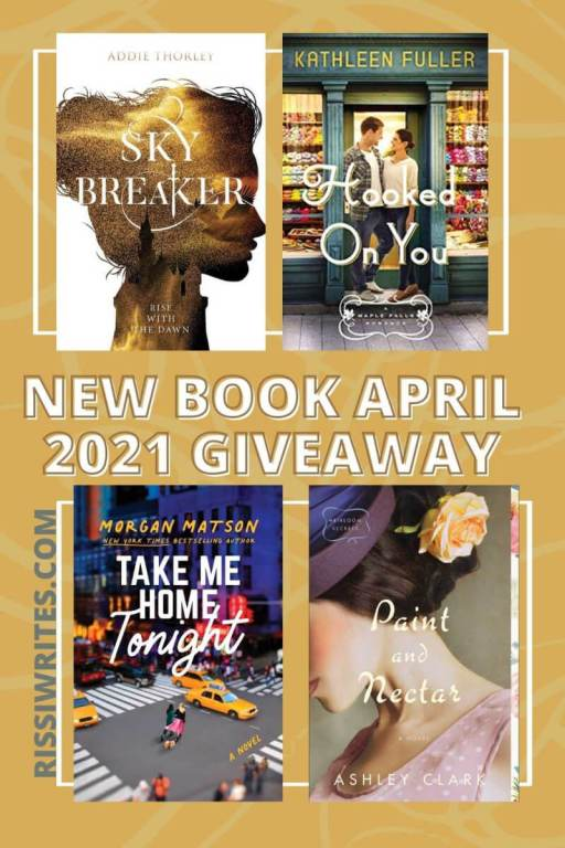"""NEW BOOK MAY 2021 GIVEAWAY. Another new month means another """"winner's choice"""" giveaway! All text © Rissi JC"""