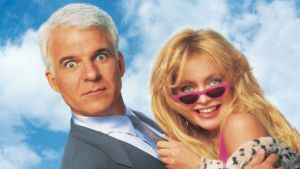'HOUSESITTER': ONE TYPICAL FUNNY 90s COMEDY MOVIE. Steve Martin and Goldie Hawn team up in this funny comedy! All text is © Rissi JC