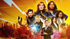 'THUNDER FORCE': JUST A LITTLE TOO SILLY TO ENJOY. Review of the Melissa McCarthy and Octavia Spencer Netflix comedy. All text © Rissi JC