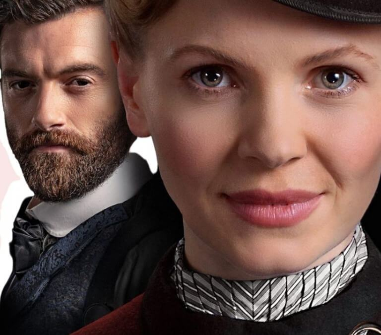 'MISS SCARLET AND THE DUKE,' SERIES ONE: A GOOD BUT NOT ALWAYS WORTHY PERIOD DRAMA. Review of the 2020 Period Drama with Kate Phillips. Text © Rissi JC | PHOTO: Masterpiece PBS / Alibi
