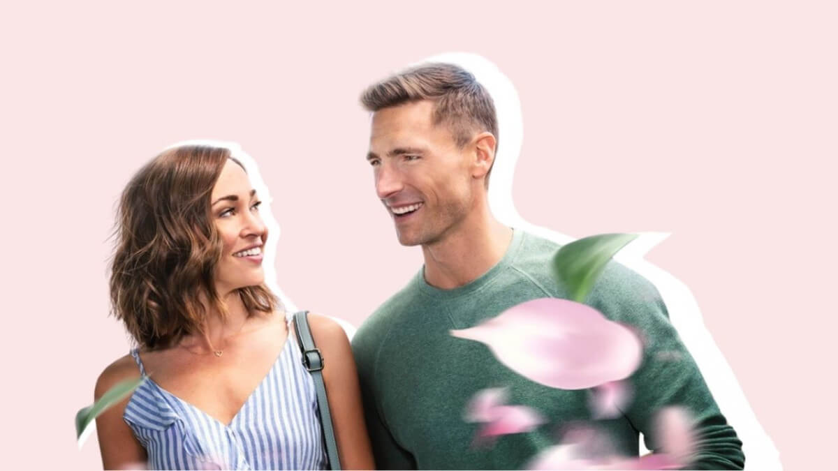 FIND 'THE 27-HOUR DAY' IN A CHARMING ROMANTIC HALLMARK MOVIE. Autumn Reeser and Andrew Walker costar in this 2021 rom-com. Text © Rissi JC