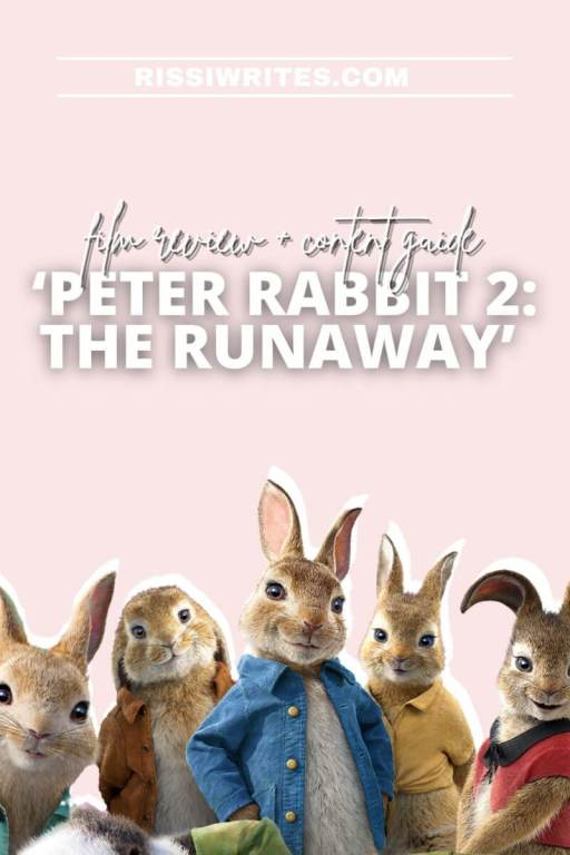 'PETER RABBIT 2: THE RUNAWAY' - MORE FUNNY SHENANAGINS WITH THE RABBITS. Review of the sequel with James Corden, Margot Robbie and Rose Bryne. © Rissi JC