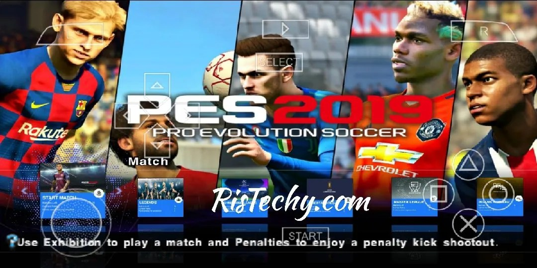 PES 2019 Lite PPSSPP 300 MB Iso PS4 Camera Download - RisTechy