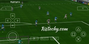 PES 2019 PPSSPP-PSP Game Play