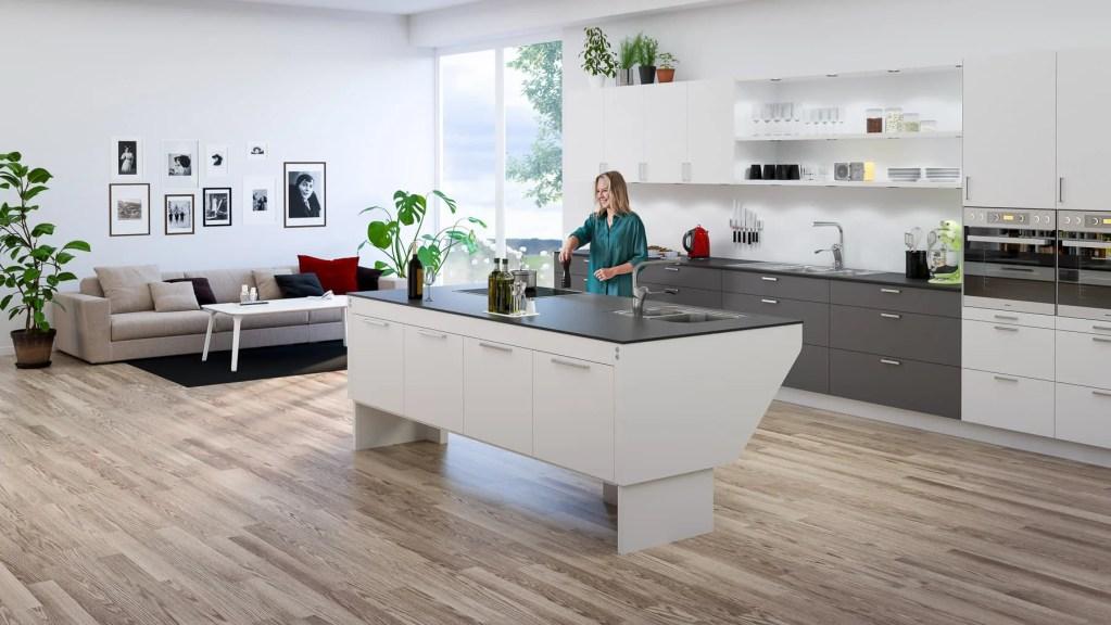 Studiofotografering av modell till visualisering åt Granberg Interior AB