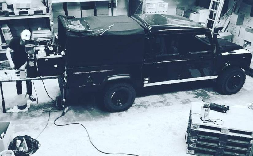 Coffee Trail (Project Land Rover)