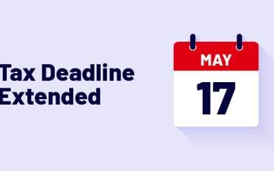 IRS Tax Deadline Updates!