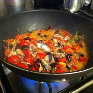 Sfumate poi la salsa con un bicchiere di prosecco