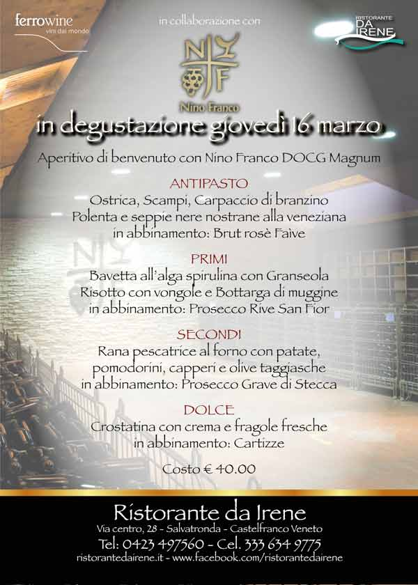 Nino Franco Prosecco di Valdobbiadene