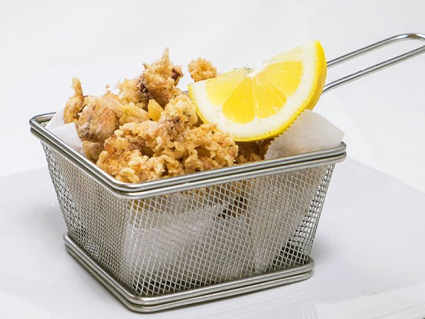 Moscardini fritti o alla griglia