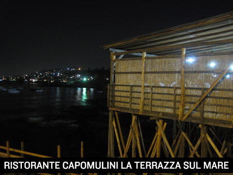 Ristorante La terrazza sul mare a Capomulini  Acitrezza