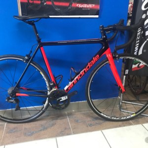 CANNONDALE SUPERSIX ULTEGRA DI2 USATA. RISTOROCYCLES