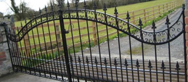 verniciatura cancello