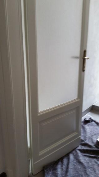 verniciatura porte E Stipiti in legno 01 ristrutturazionmilano.com
