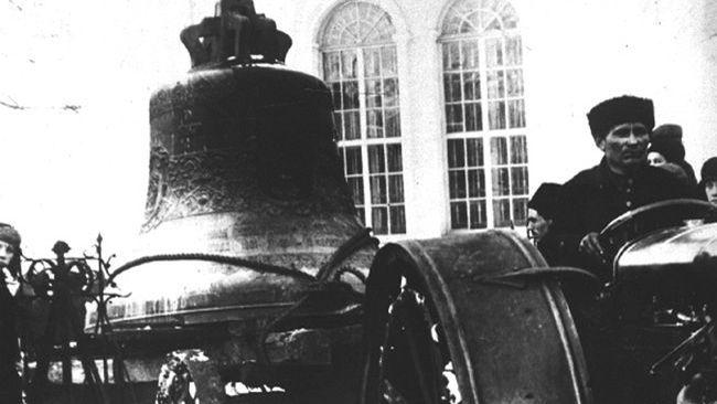 Перевезення дзвона, знятого з церкви «на потреби радянської влади» - фото 62409