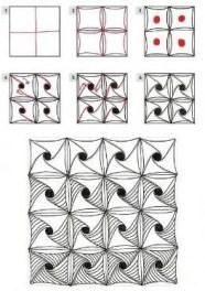 15.Дудлинг для начинающих схемы: дудлинг поэтапно