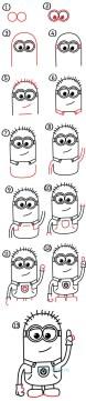 06.Как нарисовать миньона 10 лучших способов