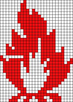 17.Как нарисовать по клеточкам разные рисунки