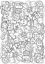 09.Картинки раскраски антистресс