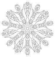 12.мандалы для раскрашивания распечатать