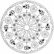 02.мандалы для раскрашивания распечатать