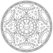 24.мандалы для раскрашивания распечатать