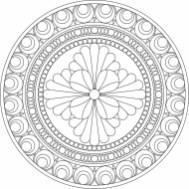 05.мандалы для раскрашивания распечатать