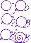 04.Поэтапное рисование для детей простые поэтапные рисунки