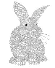 08.Раскраски антистресс животные