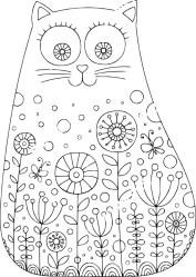 05.Раскраски для девочек распечатать
