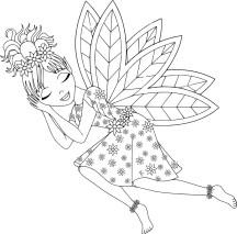 07.Раскраски для девочек распечатать