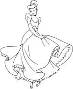 08.Раскраски для девочек распечатать бесплатно принцессы Диснея