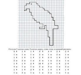 05.Рисунки по клеточкам схемы для начинающих