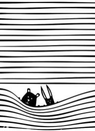 12.чёрно белые картинки для срисовки