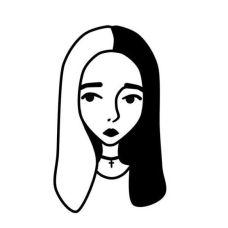 09.чёрно белые картинки для срисовки