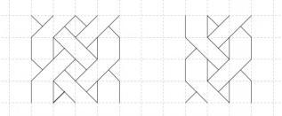 09.Как нарисовать косичку по клеточкам