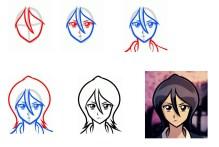 04.картинки аниме для срисовки поэтапно