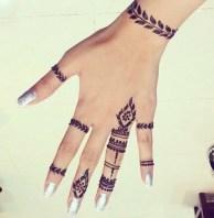 11.мехенди на руке лёгкие рисунки для начинающих
