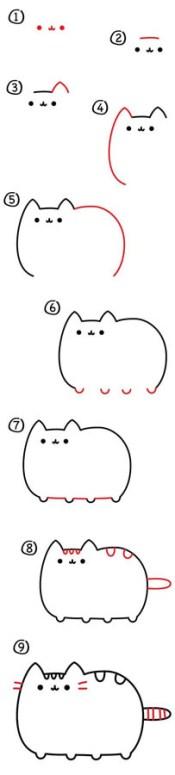 18.милые рисунки для срисовки